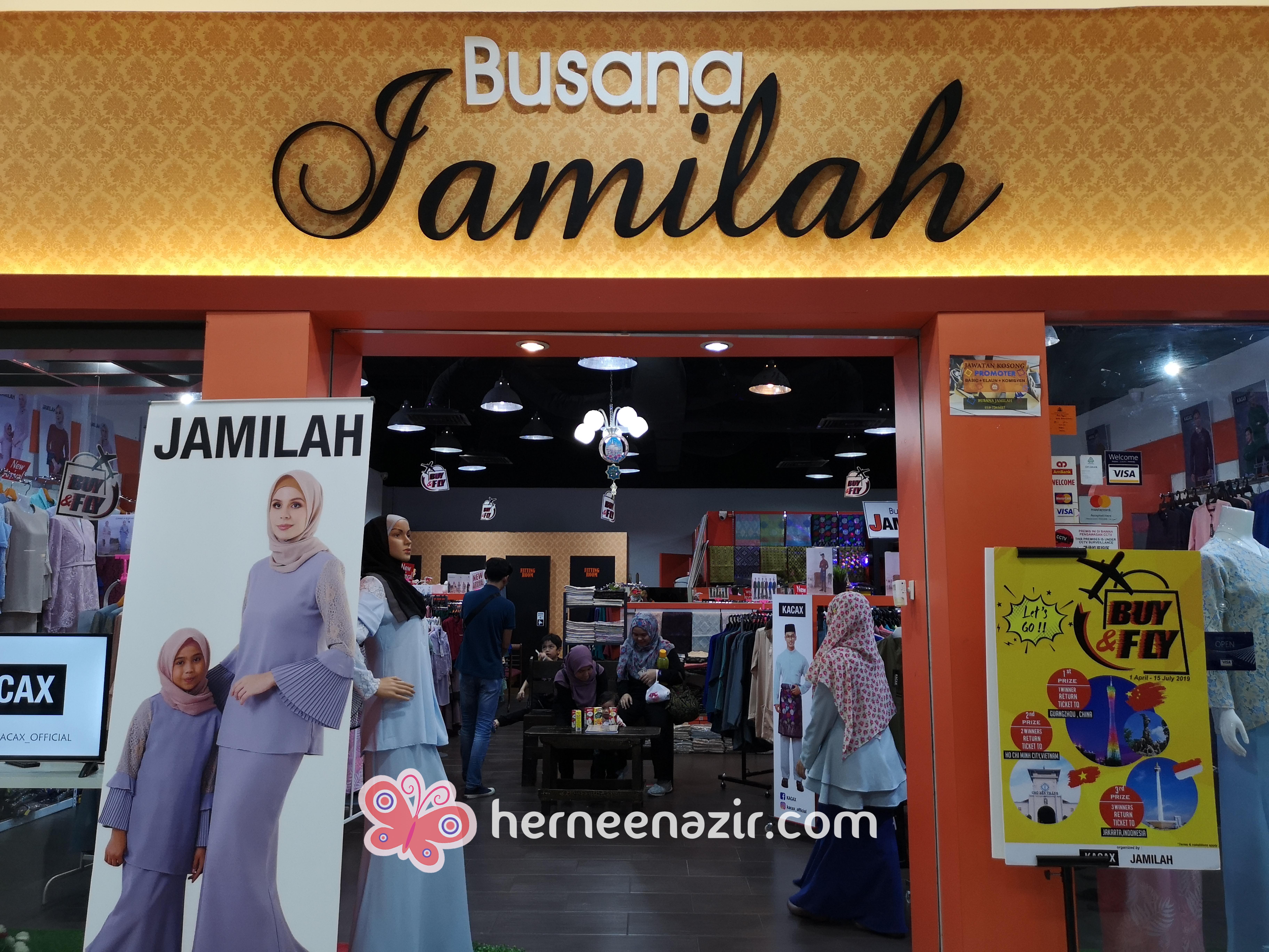 """Busana Jamilah """"One Stop Family Boutique"""" Pilihan Ramai"""