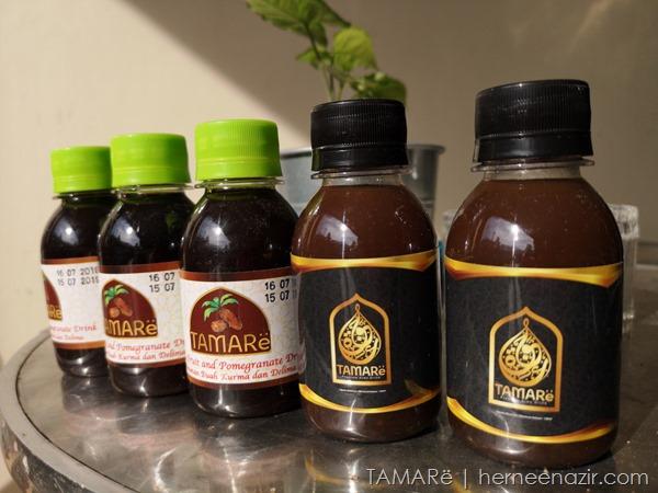 TAMARë ~ Dates Fruit with Pomegranate Drink Membantu Ibu-ibu Kekal Bertenaga