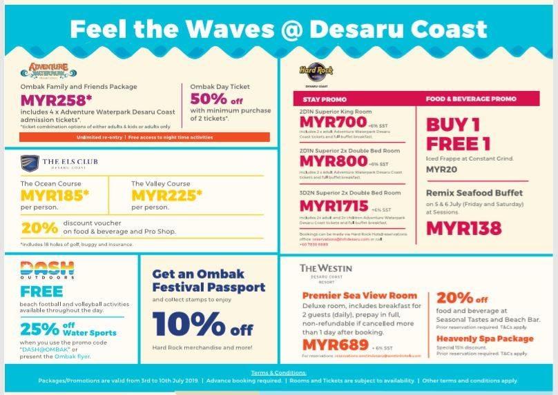 OMBAK FESTIVAL at Desaru Coast Malaysia2