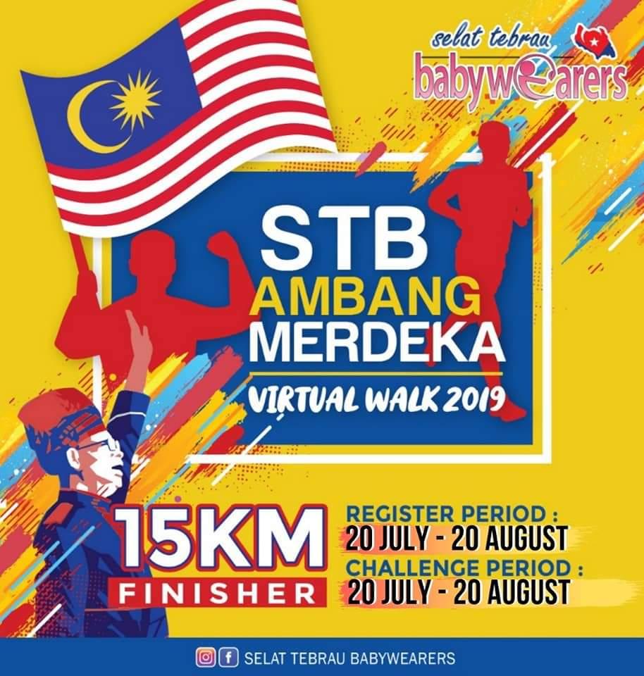 STB Ambang Merdeka Virtual Walk 2019 (20 July – 20 August 2019)