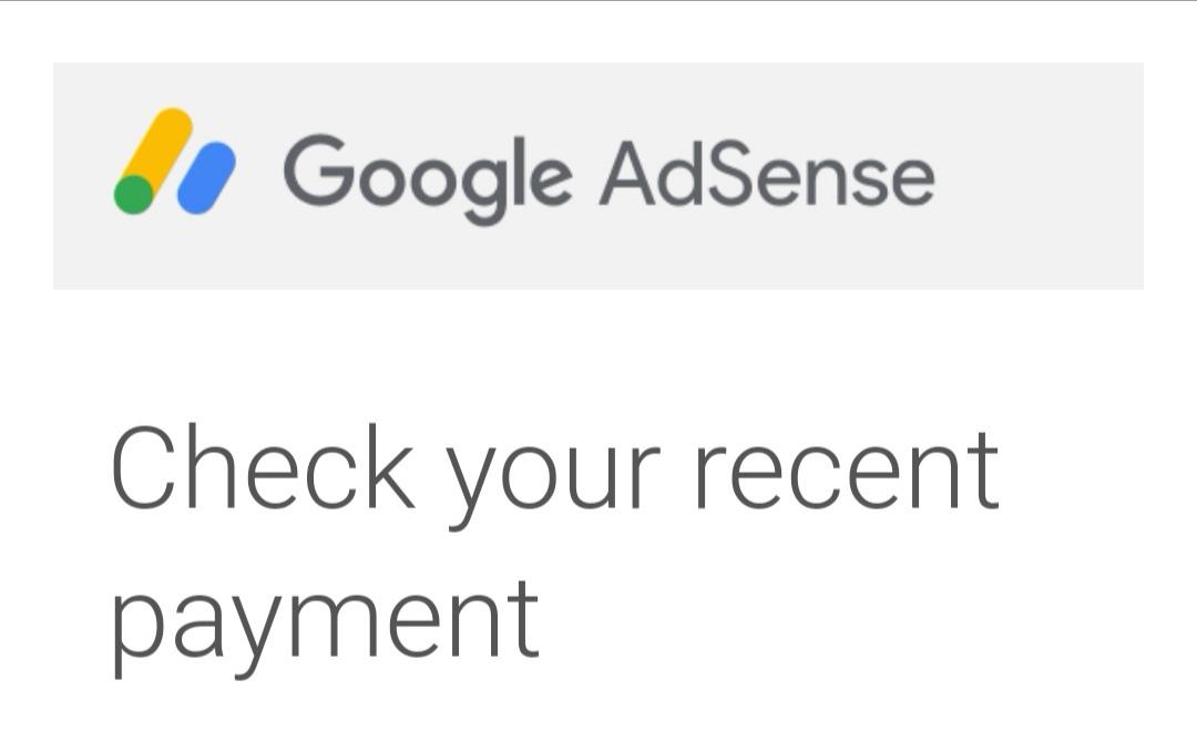 Third Payment.. TQ Google Adsense!