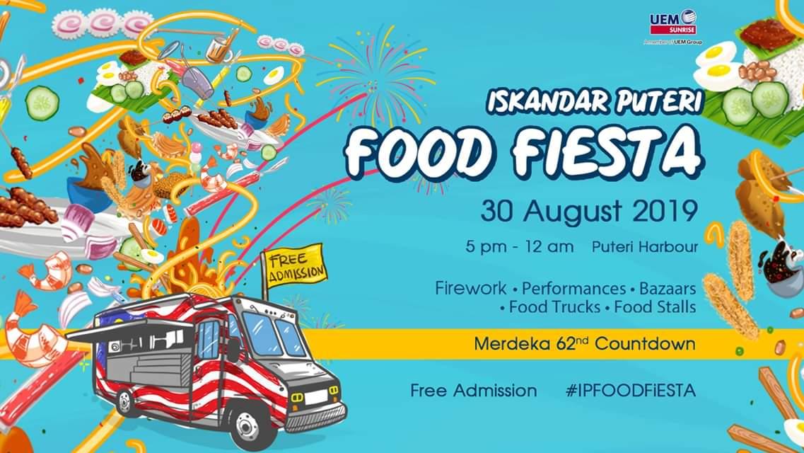 Iskandar Puteri Food Fiest (30 August 2019)