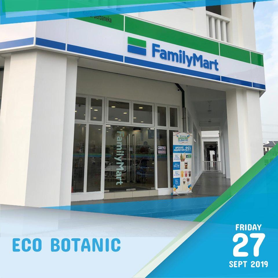 FamilyMart Eco Botanic Kini Dibuka!