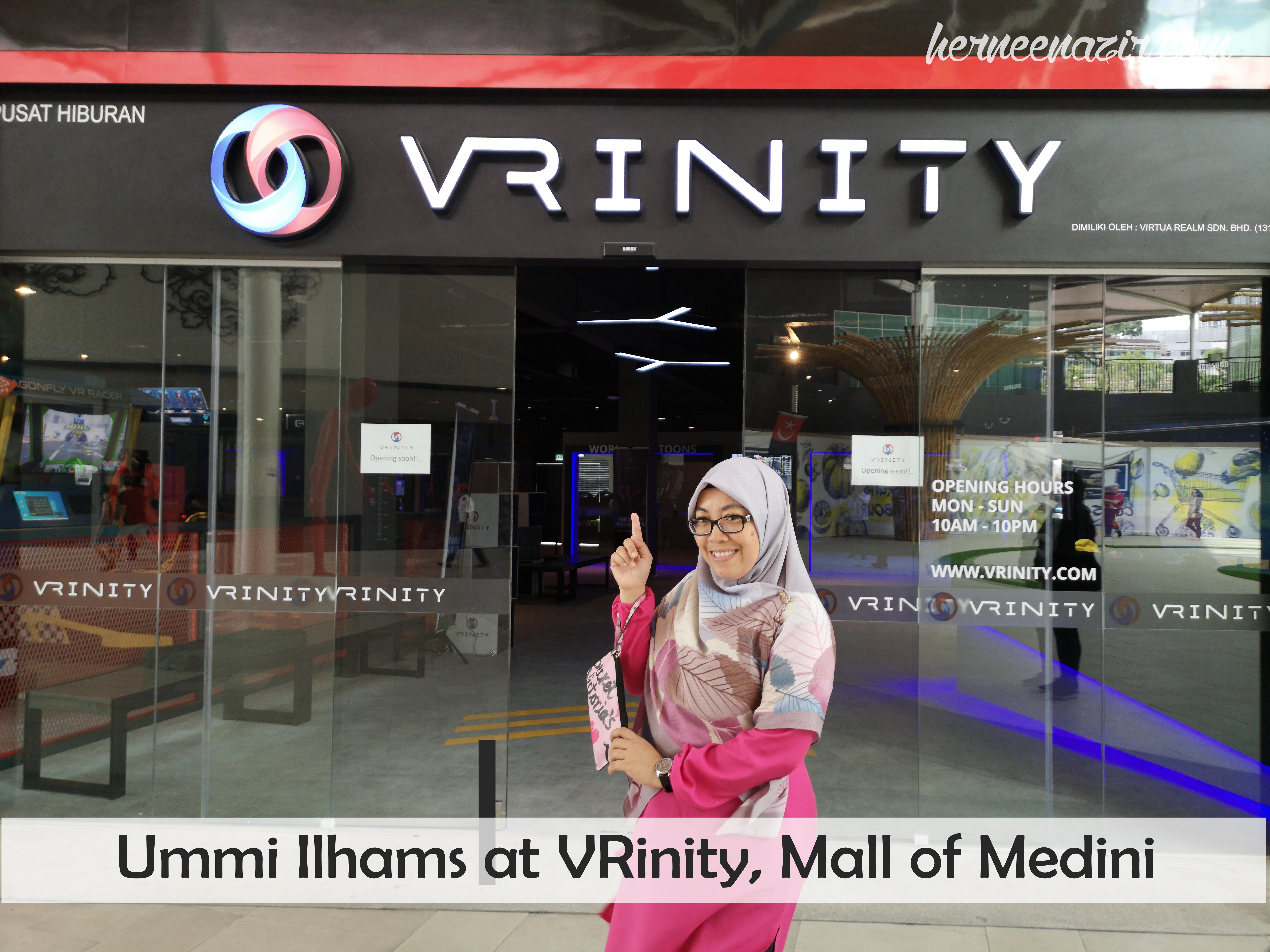 VRinity Daya Tarikan Terbaru di Mall of Medini Iskandar Puteri