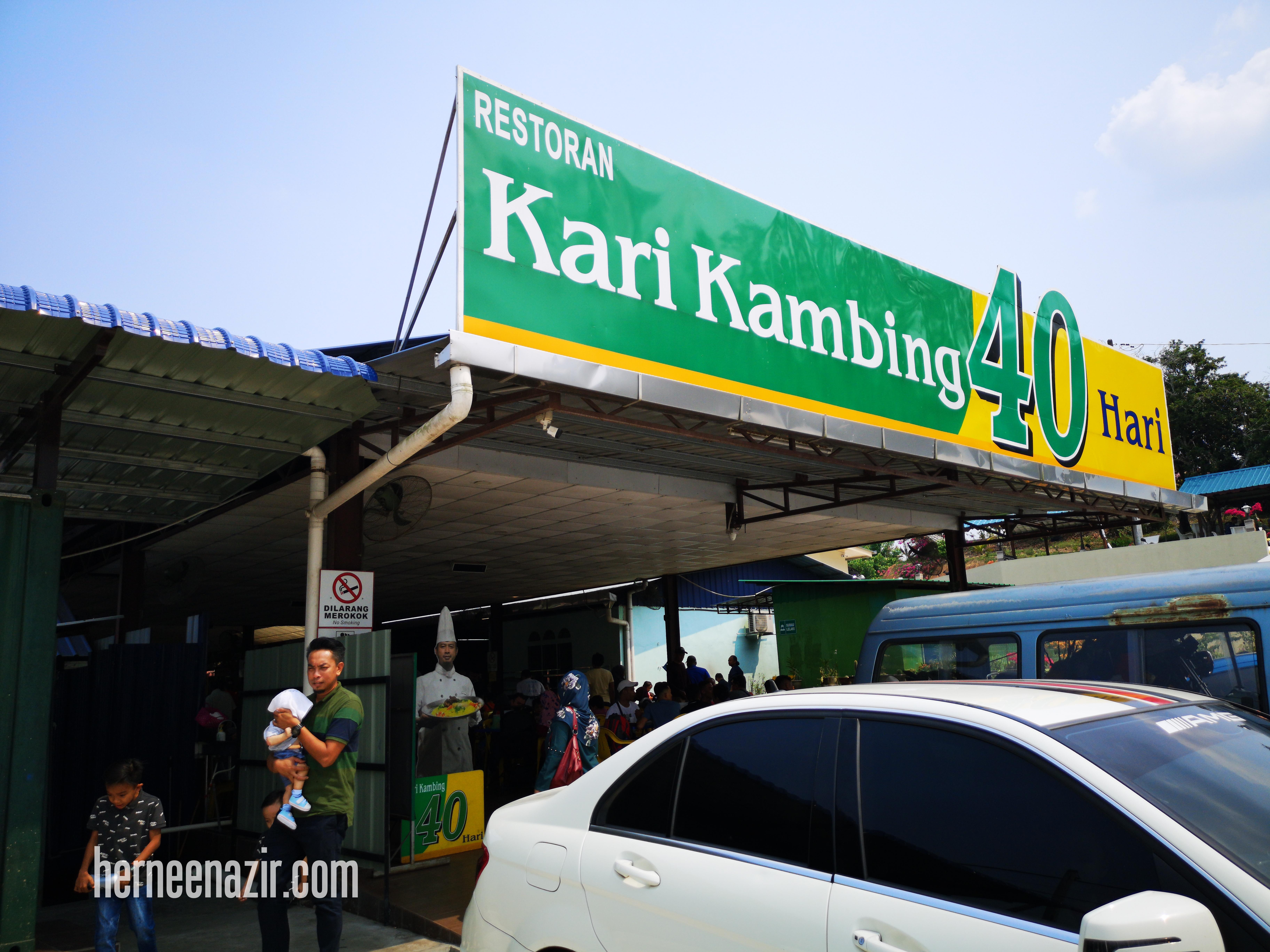 Travelog Muar | Lunch di Restoran Kari Kambing 40 Hari