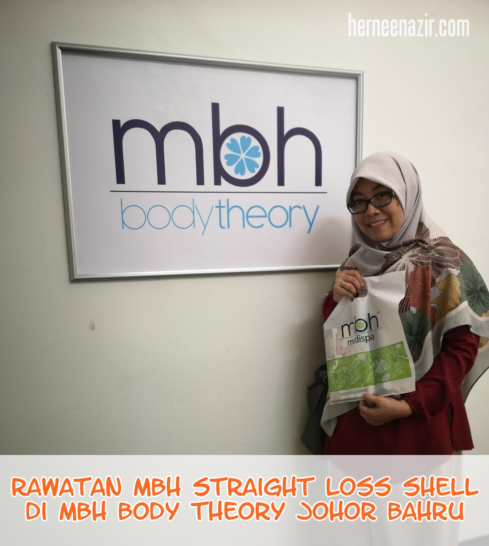Rawatan MBH Straight Loss Shell di MBH Body Theory Johor Bahru