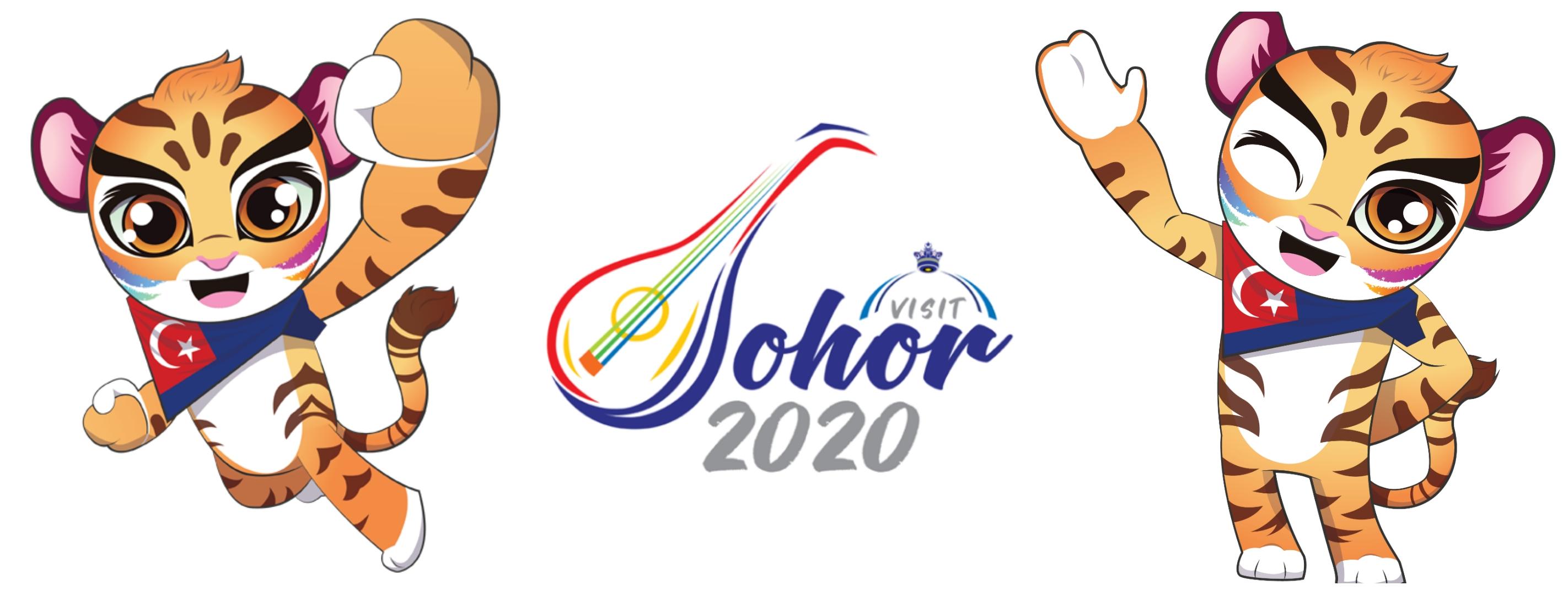 Maskot & Logo Visit Johor 2020