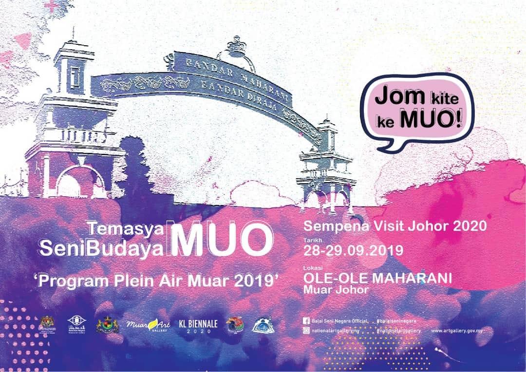Program Temasya Seni Budaya Muo Sempena Visit Johor 2020 – 28 & 29 September 2019