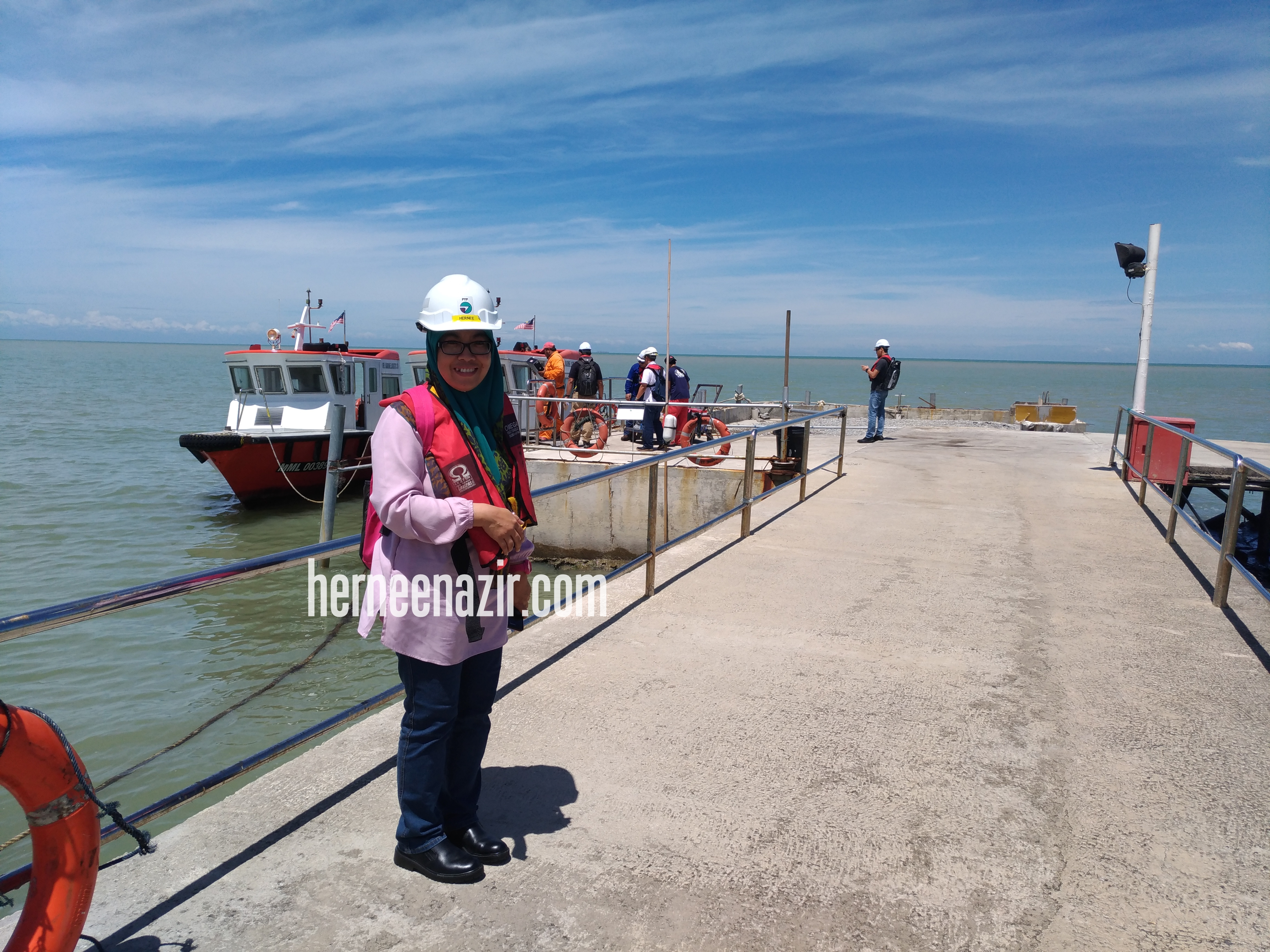 Tug Boat Sea Trial di Sungai Udang Melaka