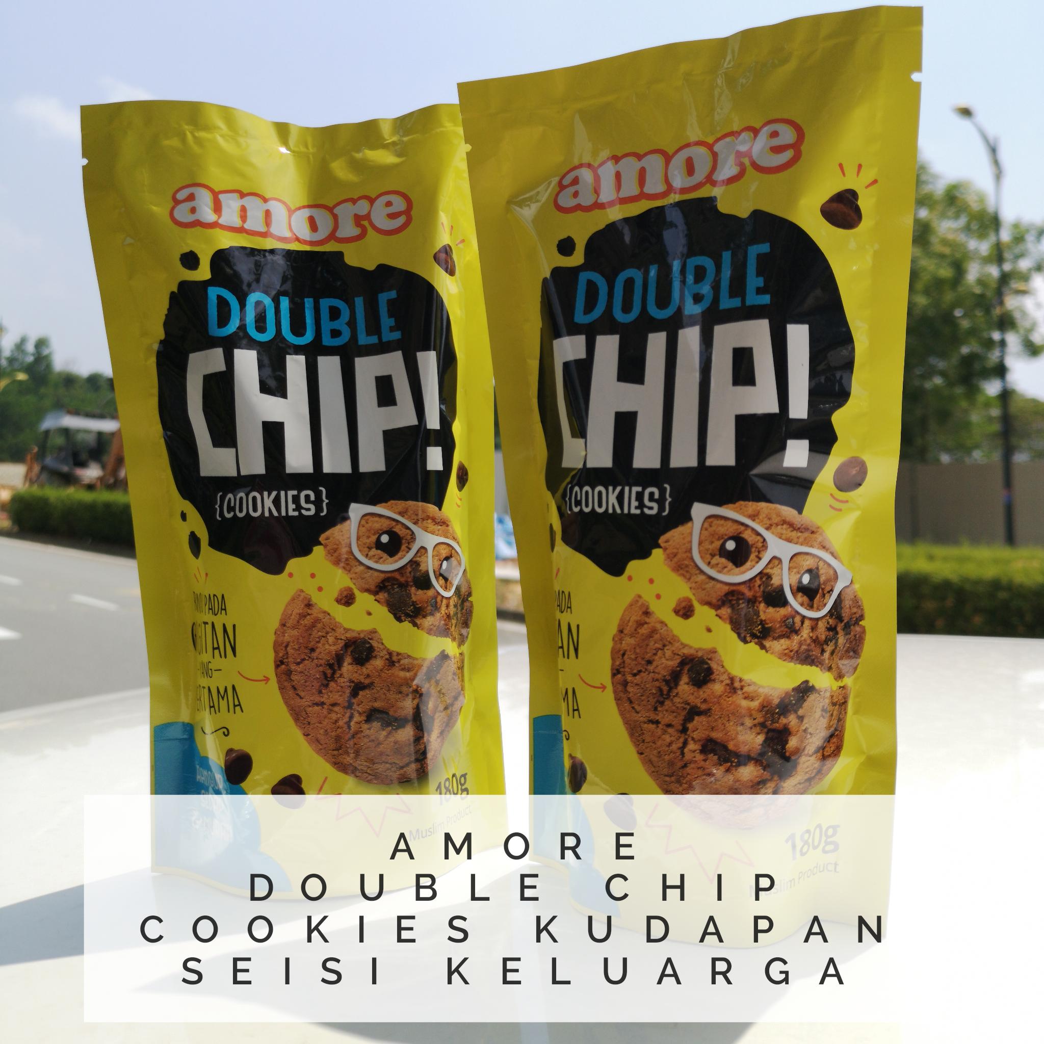 Amore Double Chip Cookies Kudapan Seisi Keluarga
