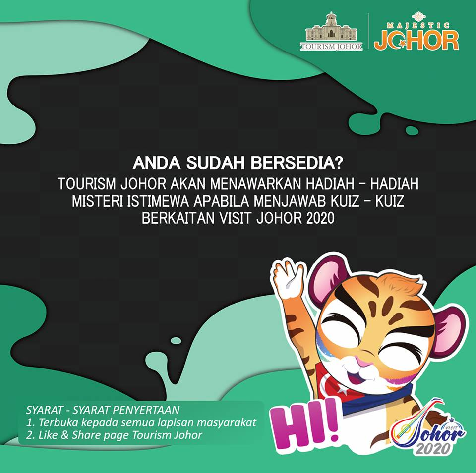 Kuiz Tourism Johor Sempena Visit Johor 2020