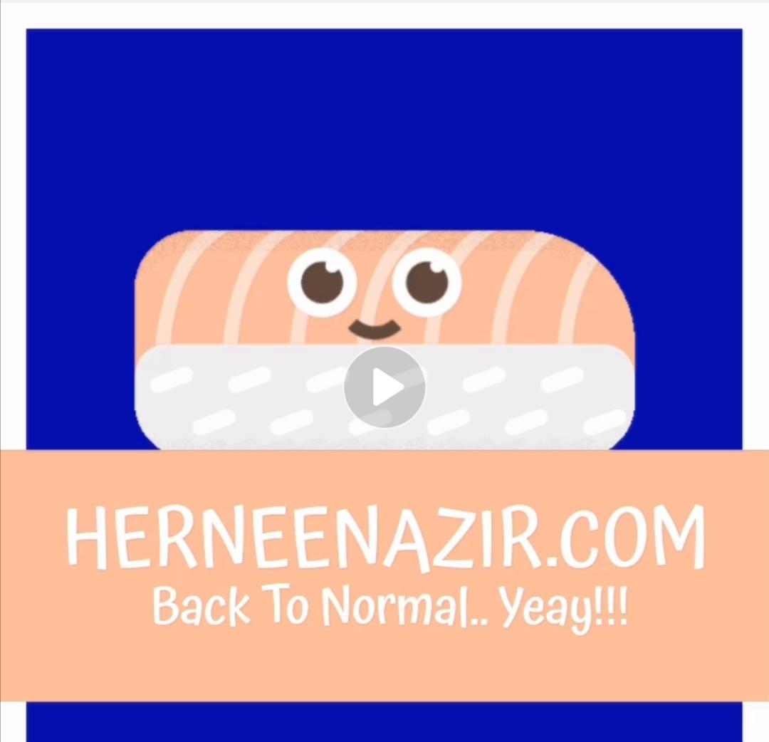 herneenazir.com Back To Normal!