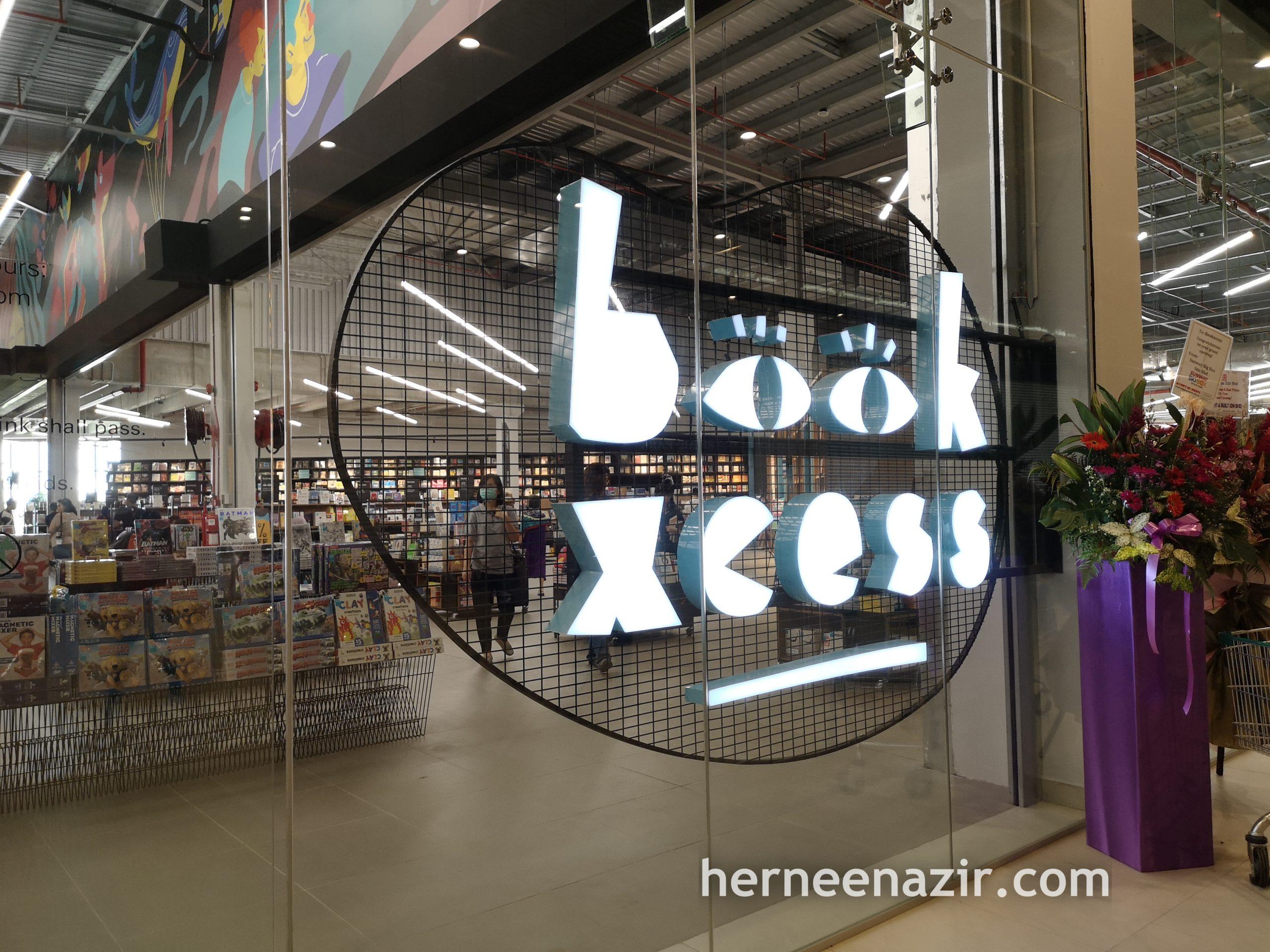 BookXcess Kini Dibuka di Sunway Big Box, Sunway Iskandar