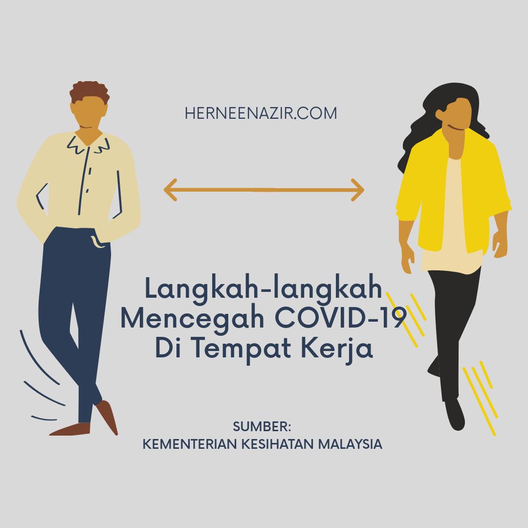 Langkah-langkah Mencegah COVID-19 Di Tempat Kerja
