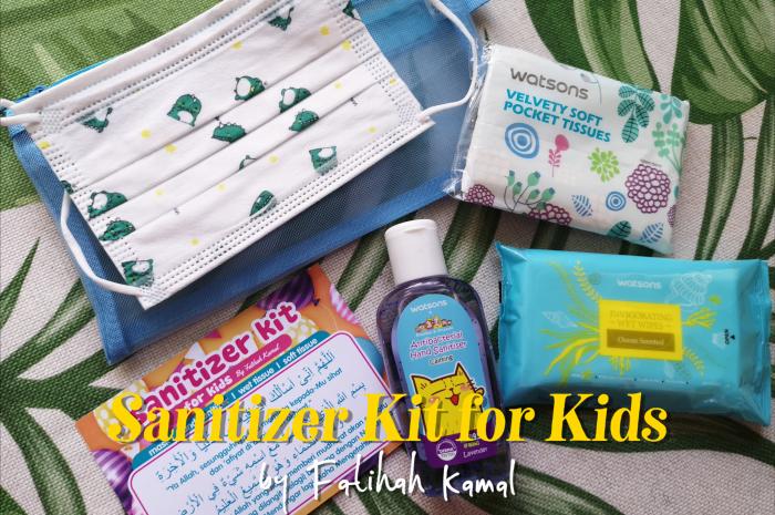Sanitizer Kit for Kids by Fatihah Kamal