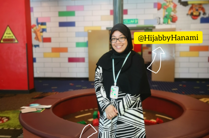 Outfit Of The Day (OOTD) Ummi Ilhams dari The Modest Alia & Hijab by Hanami