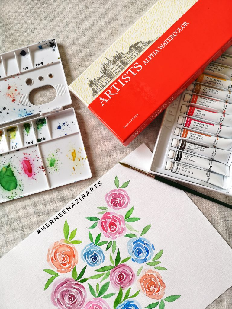 Artists Aplha Watercolor