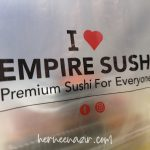 Mencuba Empire Sushi Sunway Big Box