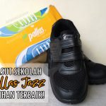 Kasut Sekolah Pallas Jazz 205-0196BK Pilihan Terbaik
