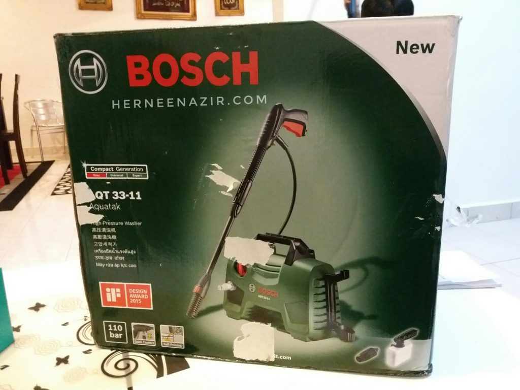 Review BOSCH High Pressure Washer