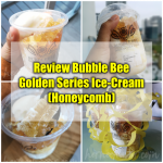 Review Bubble Bee Golden Series Ice-Cream (Honeycomb)