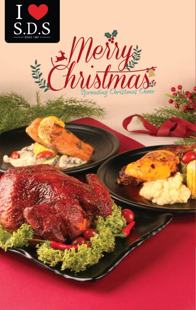 Spicy Christmas Cheer Spread to SDS Menu and Orphans