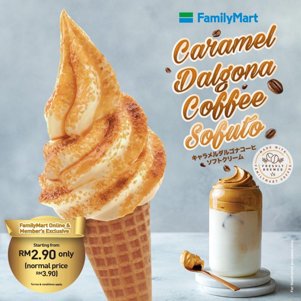 Review Caramel Dalgona Sofuto FamilyMart