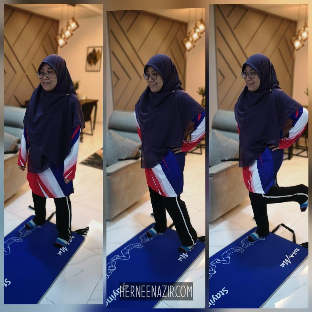 Jersi Sublimation Muslimah Dari JRig Gear Sangat Selesa Untuk Aktiviti Riadah