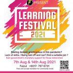 Gabungan 'Junior Chamber International' Anjur Program 'Learning Festival' 2021 (7 & 14 Ogos 2021)