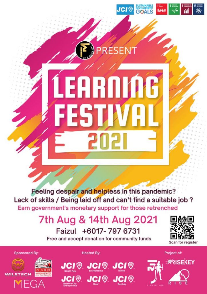 Gabungan 'Junior Chamber International' Anjur Program 'Learning Festival'