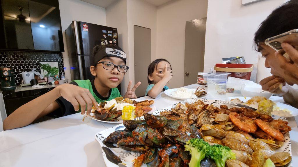 Dinner Shellout Di Rumah