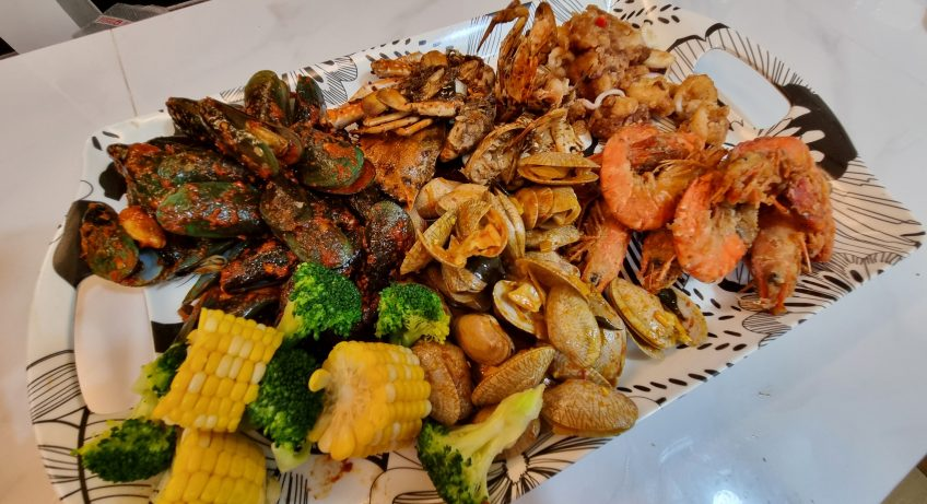Dinner Shell Out Di Rumah